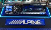 アルパイン CDA-7895J V-DRIVE 60W×4 名機 高音質 光 ALPINE
