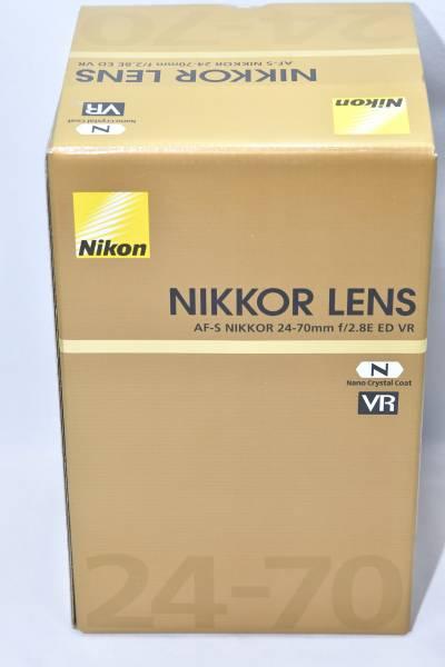 ◇★未使用品★Nikon AF-S NIKKOR 24-70mm f/2.8E ED VR◇