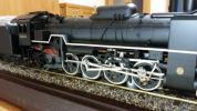 レア!! D51 蒸気機関車 置物 模型 年代物 機関車