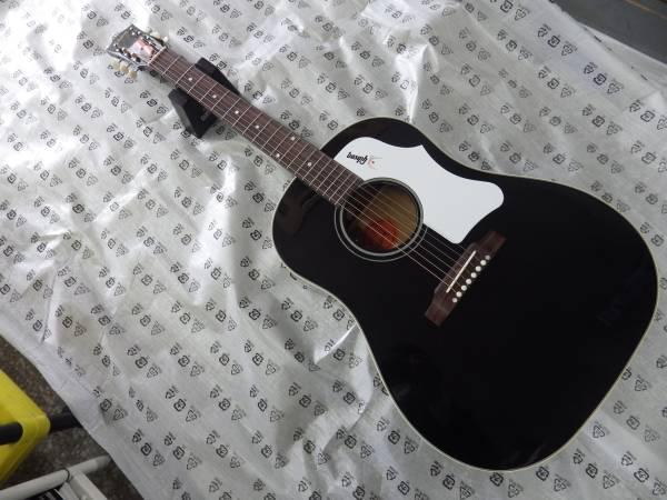 限定品 Gibson Montana 1960s J-45 Ebony Bone Saddle