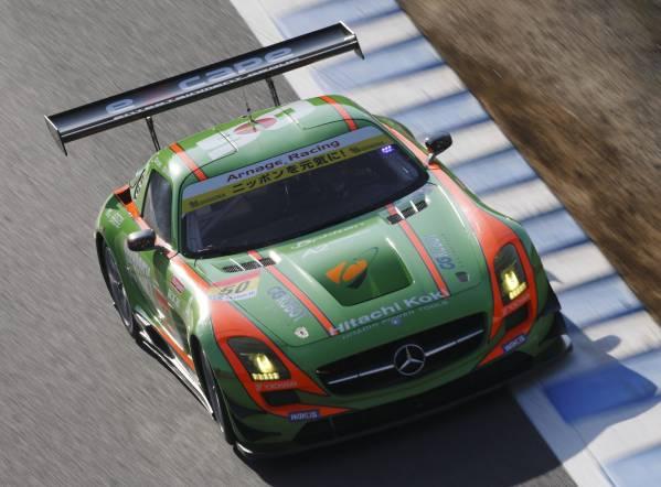 現役スーパーGT参加車両!「SLS-AMG/GT3カー」完全完動車両売切り_画像3