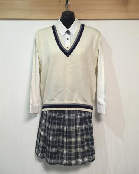 No.2 山口県 宇部中央高校 女子 制服 セット 中古