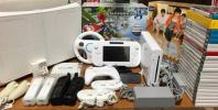 ◆美品Wii U マリオカート8 セット シロ スプラトゥーンマリオメーカー3DワールドスマブラX◆eneloop◆