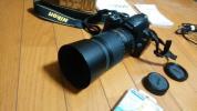 Nikon デジタル一眼レフカメラ D3000 望遠撮影レンズ付 セット