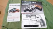 タナカ S&W M60 チーフ ペガサス フレーム m36 HW
