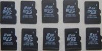 中古9microSDカード,マイクロSDカード,2GB,10枚セット,送料無料