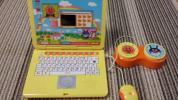 兒童電腦 - アンパンマンカラーパソコン 中古 美品
