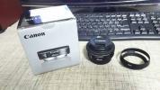 Canon EF40mm F2.8 STM おまけ付 USED品