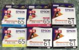 エプソン プリンターインク 未使用6本 期限切れ一度に出品!