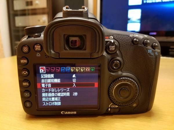 ★☆【USED】Canon EOS 7D ボディ ショット数 5280☆★