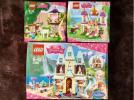 DISNEY PRINCESS LEGO 41065/41068/41142 3点 未開封品