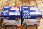 エプソン純正品 インクカートリッジ 70L IC6CL70L 新品 2箱