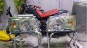 ハイエース 200系 イーグルアイズ 中古品 ヘッドライト セット