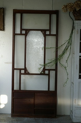 古い洋館/結霜ガラス/アンティーク/ドア/ケビント建具/扉/戸B