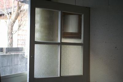 古い洋館モールガラス/ アンティーク ドア☆ケビント建具 扉 戸