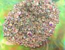 美甲用品 - 1000粒★たっぷり詰め合わせ高品質クリスタルガラス製ラインストーン#スワロフスキービーズ#ネイルアート#ネイルチップアイフォン7デコに