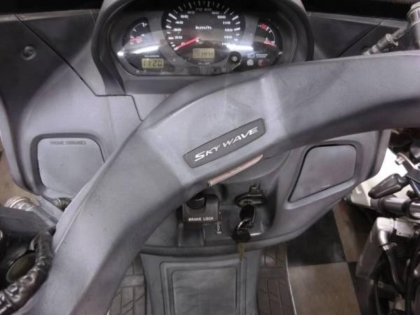 「スズキ スカイウェイブ250 CJ42A  ジャンク」の画像3