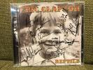 签名 - Eric Claptonエリック・クラプトン直筆サイン入りCD REPTILE独盤