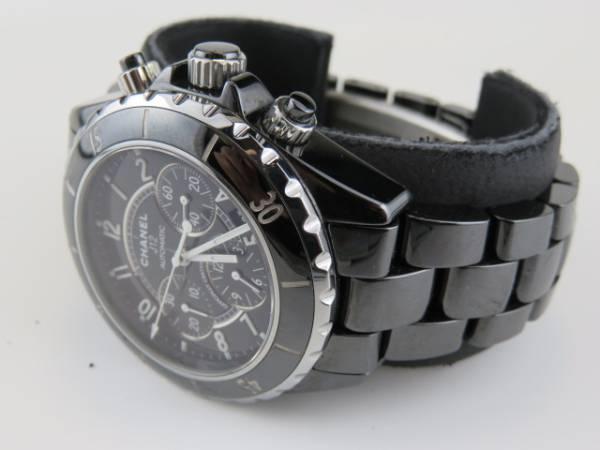 シャネル J12 クロノグラフ 41mm メンズ 腕時計 H0940 美品売切