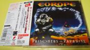 EUROPE☆『PRISONERS IN PARADISE』☆帯付リマスター国内盤☆