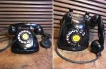 家貨屋No12.昔の黒電話.4号A自動式.昭和レトロ.古道具.昔.懐しい.アンティーク