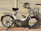 ヤマハ パスコンパクト (リチウム) 電動自転車 20インチ 良好
