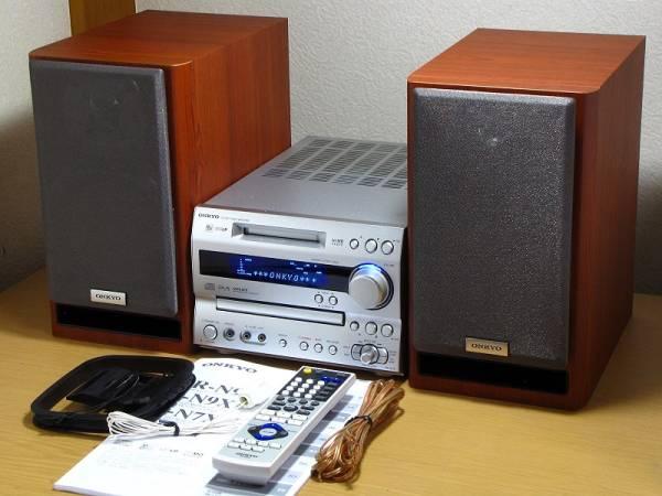 美品!ONKYO CD&MDコンポ★FR-N7X/スピーカー★D-N7X