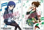 BD DVD アイドルマスター 5巻 特典 秋月律子 如月千早 ポスター