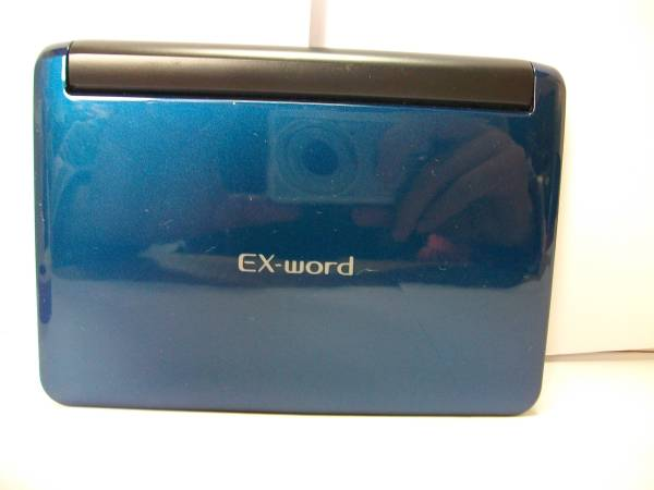 CASIO EX-word DATEPLUS 8 XD-U6000 稼働品_画像2