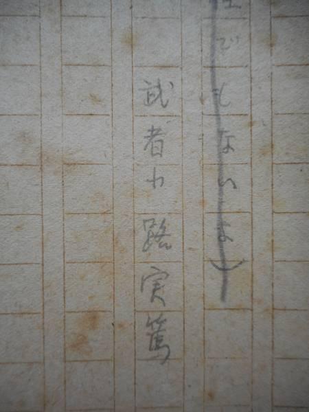 昭和20年 武者小路実篤肉筆原稿「それ程でもないよ」全101枚完_画像3