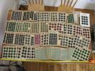 フランス アンティーク ボタンシート 66枚 セット 970個 ボタンセット デットストック 蚤の市 ボタン 古いボタン