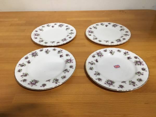 (78) ROYAL ALBERT ロイヤルアルバート 中皿 4枚セット お皿