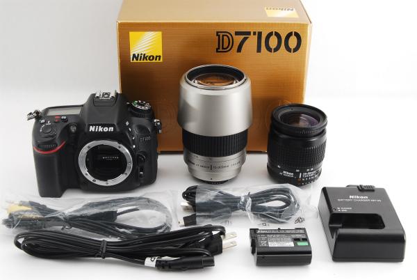 ★美品★Nikon D7100 純正 超望遠 300mm Wレンズセット