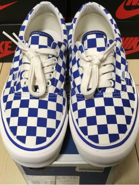 vans og era lx checkerboard true blue