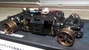 京商 MINI-Z AWD MHS MA-020VE PRO SPシャシーセットOP付中古品