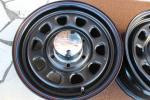 15インチ デイトナBKホイール 200系ハイエースにおすすめ美品4本セット格安