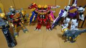 獣電戦隊キョウリュウジャーDXキョウリュウジン他4体セット