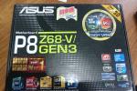ASUSTeK P8Z68-V/GEN3 マザーボード 保証付!