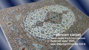 ペルシャ絨毯 アンティーク 家具 手織り ウール 美術品 草木染