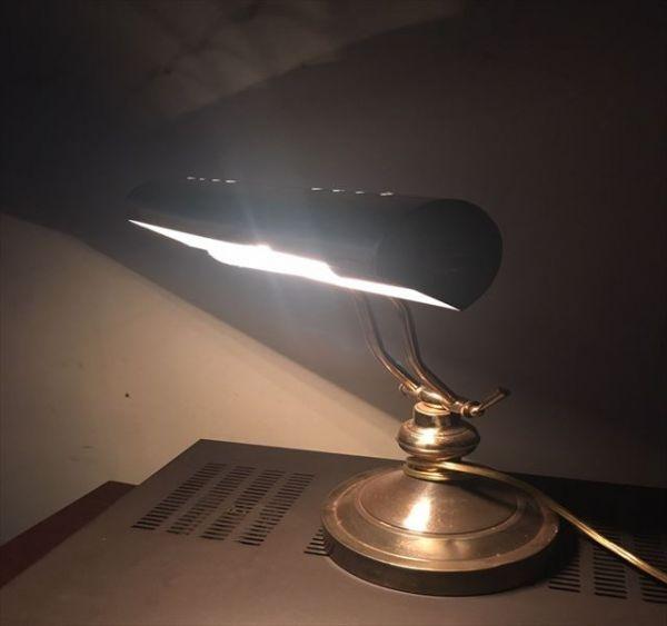 ◆電気スタンド◆レトロ アンティーク調 外国製 ランプ 大