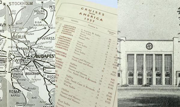 ●戦前欧州旅行●パンフ・地図一括●外交官旧蔵品