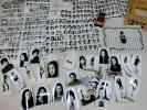 昭和45年◆モデル 印画紙古写真+芸能プロパンフ◆エディアラブ