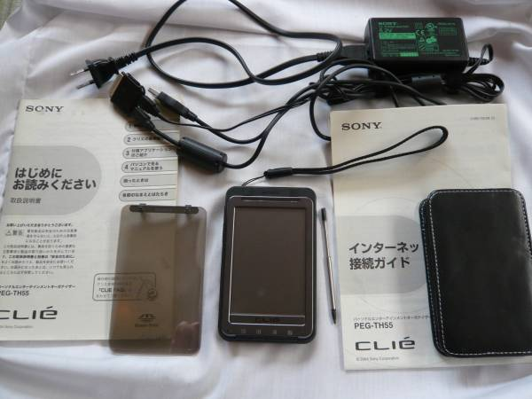 Sony CLIE PEG-TH55 完動品