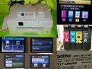 o品名oブラザー/インクジェット複合機コピーFAX電話PCプリンター子機付きMFC-J720D♪経済的?機種※印刷は未チェック品
