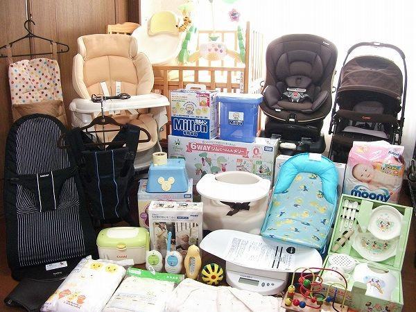 ★出産準備豪華セット★ミニハイベッド/電動ラック/ベビーカー他