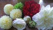 造花 髪飾り 和装 結婚式 かんざし 手作り