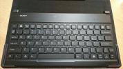 ソニー Xperia Z2 Tablet用カバー付きBluetoothキーボード BKC50