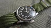 第二次大戦エルジン軍用時計A-11デッドストック物当時の袋付き