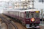 【鉄道写真】阪急電鉄宝塚線6000形6006『初詣』 [0002391]