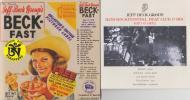 Jeff Beck / Beck-Fast (Tara200限定1CD)+ Ruis Rockfes(MV3CD)